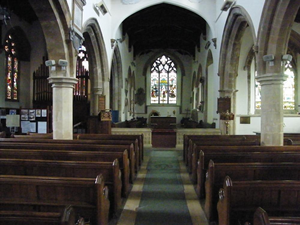 Hallaton church